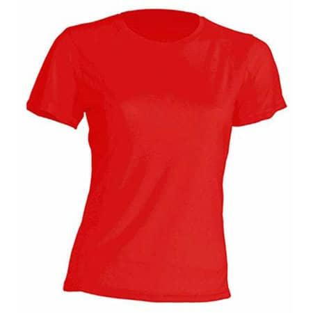 Sport T-Shirt Lady in Red von JHK (Artnum: JHK101
