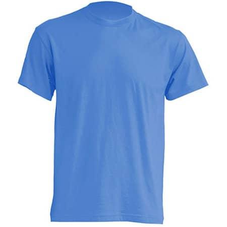 Regular T-Shirt in Azure von JHK (Artnum: JHK150