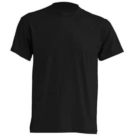 Regular T-Shirt in Black von JHK (Artnum: JHK150