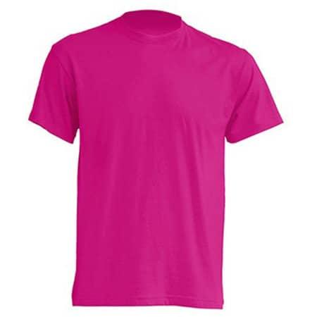 Regular T-Shirt in Fuchsia von JHK (Artnum: JHK150