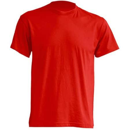 Regular T-Shirt in Red von JHK (Artnum: JHK150