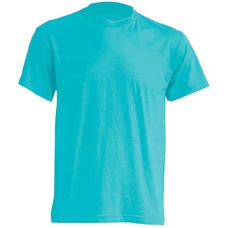 Regular T-Shirt in Turquoise von JHK (Artnum: JHK150