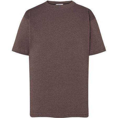 Kids` T-Shirt in Graphite von JHK (Artnum: JHK150K