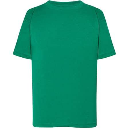 Kids` T-Shirt in Kelly Green von JHK (Artnum: JHK150K