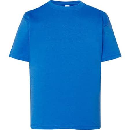 Kids` T-Shirt in Royal Blue von JHK (Artnum: JHK150K
