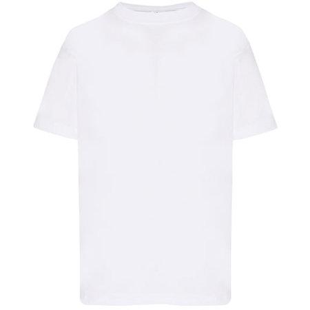 Kids` T-Shirt in White von JHK (Artnum: JHK150K