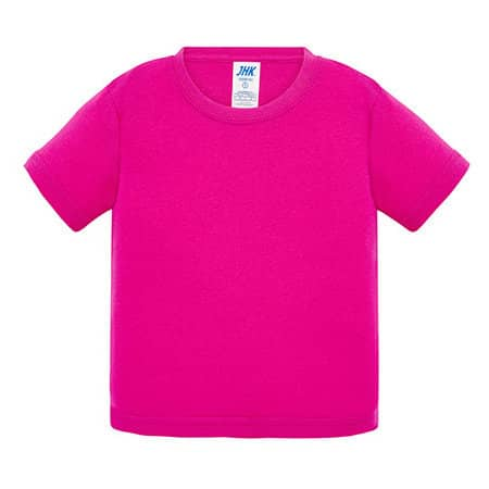 Baby T-Shirt in Fuchsia von JHK (Artnum: JHK153K
