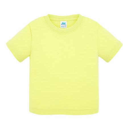 Baby T-Shirt in Pistachio von JHK (Artnum: JHK153K