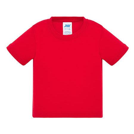 Baby T-Shirt in Red von JHK (Artnum: JHK153K