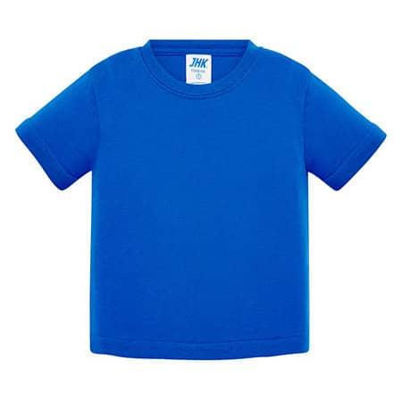 Baby T-Shirt in Royal Blue von JHK (Artnum: JHK153K