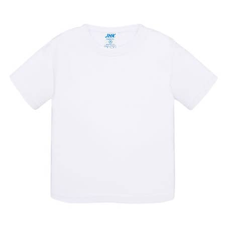 Baby T-Shirt in White von JHK (Artnum: JHK153K