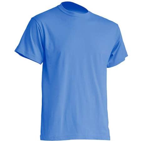 Regular Premium T-Shirt in Azure von JHK (Artnum: JHK190
