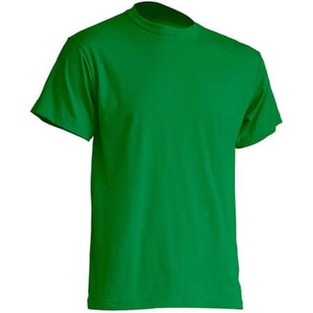 Regular Premium T-Shirt in Kelly Green von JHK (Artnum: JHK190
