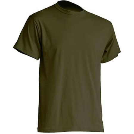Regular Premium T-Shirt in Khaki von JHK (Artnum: JHK190