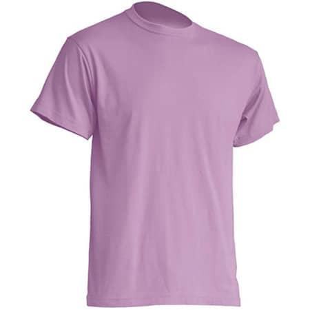 Regular Premium T-Shirt in Lavender von JHK (Artnum: JHK190