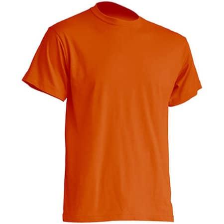 Regular Premium T-Shirt in Orange von JHK (Artnum: JHK190