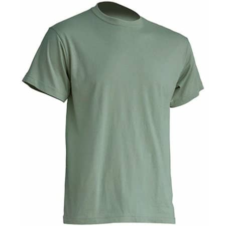 Regular Premium T-Shirt in Pale Green von JHK (Artnum: JHK190