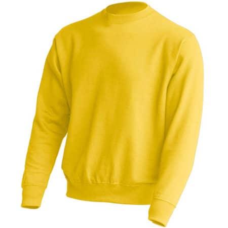 Crew Neck Sweatshirt JHK320 in Gold von JHK (Artnum: JHK320