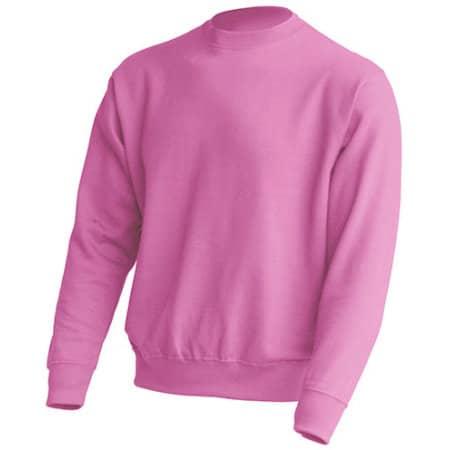 Crew Neck Sweatshirt JHK320 in Pink von JHK (Artnum: JHK320