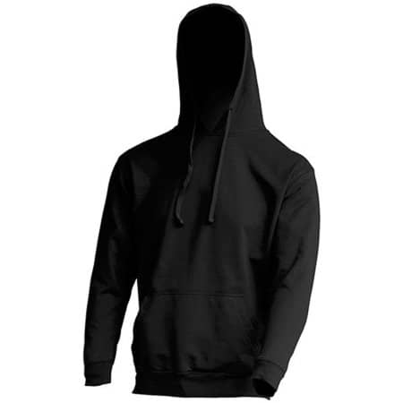 Kangaroo Sweatshirt in Black von JHK (Artnum: JHK421