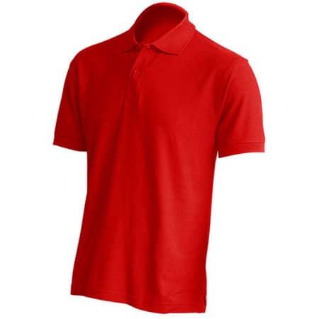 Polo Regular Man in Red von JHK (Artnum: JHK510