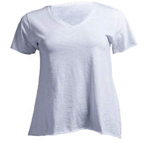 Curves Slub T-Shirt Lady