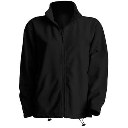 Men Fleece Jacket in Black von JHK (Artnum: JHK800