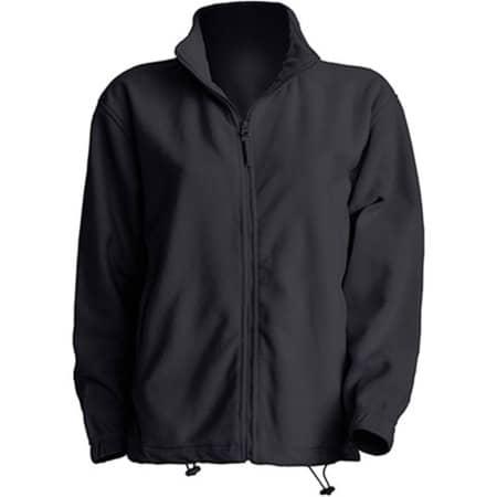 Men Fleece Jacket in Graphite von JHK (Artnum: JHK800