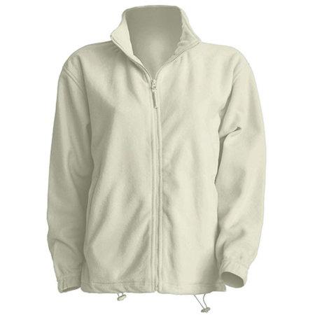 Men Fleece Jacket in Off White von JHK (Artnum: JHK800