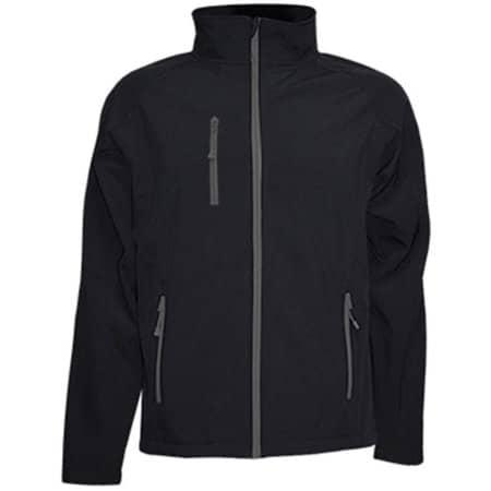 Softshell Jacket JHK832 in Black von JHK (Artnum: JHK832