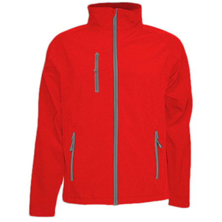 Softshell Jacket JHK832 in Red von JHK (Artnum: JHK832