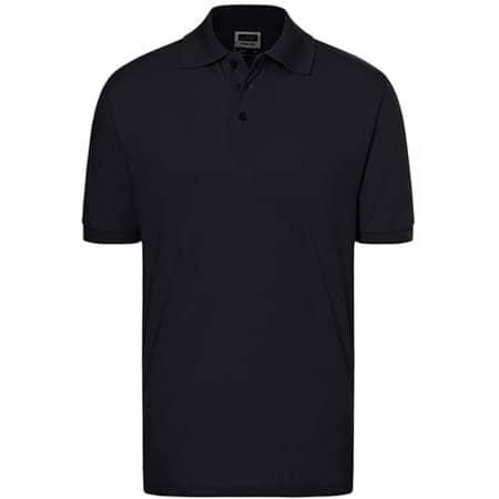 Classic Polo in Black von James+Nicholson (Artnum: JN070