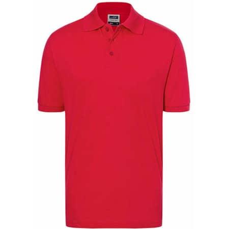 Classic Polo in Red von James+Nicholson (Artnum: JN070