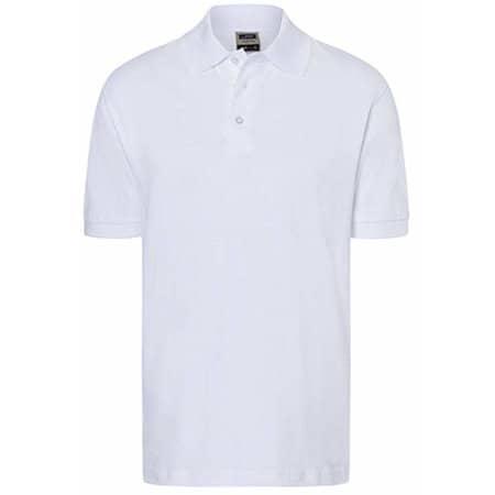 Classic Polo in White von James+Nicholson (Artnum: JN070