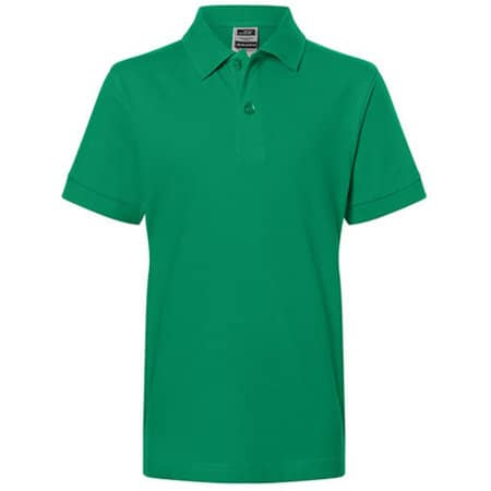 Classic Polo Junior in Irish Green von James+Nicholson (Artnum: JN070K