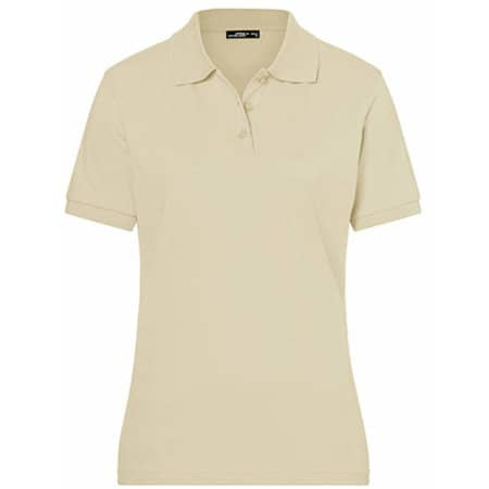 Classic Polo Ladies in Stone von James+Nicholson (Artnum: JN071