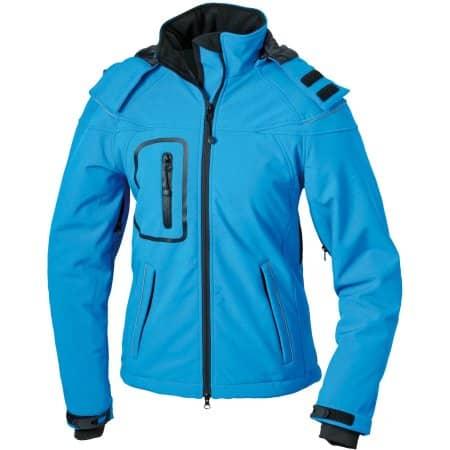 Ladies` Winter Softshell Jacket von James+Nicholson (Artnum: JN1001