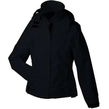 Ladies` Outer Jacket in Black von James+Nicholson (Artnum: JN1011