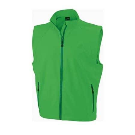 Men`s Softshell Vest (JN1022) von James+Nicholson (Artnum: JN1022