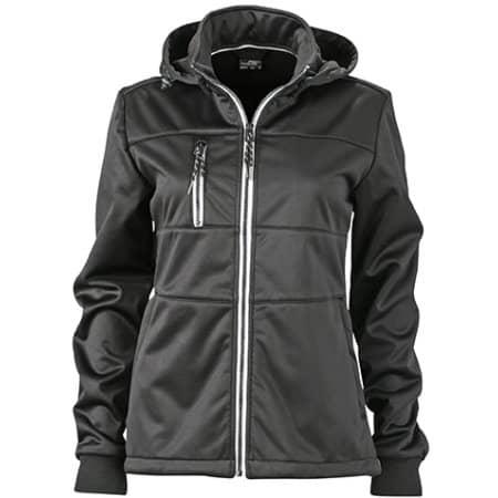 Ladies` Maritime Softshell-Jacket von James+Nicholson (Artnum: JN1077