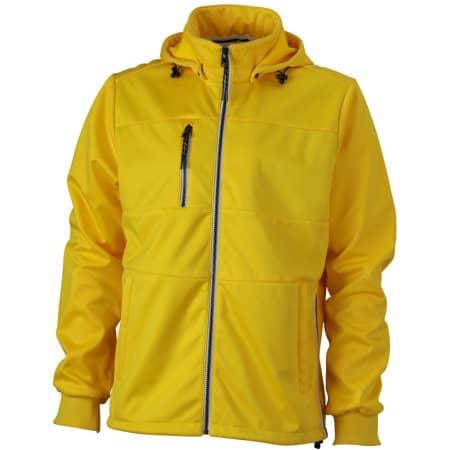 Men`s Maritime Softshell-Jacket von James+Nicholson (Artnum: JN1078