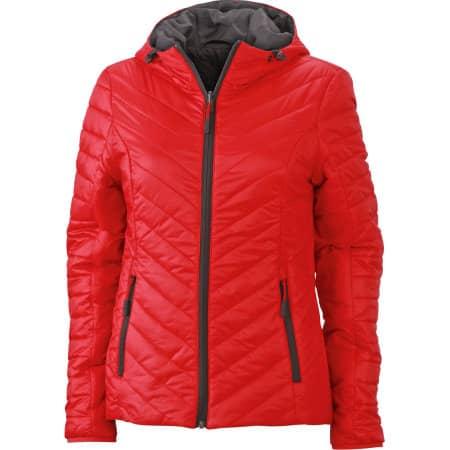 Ladies` Lightweight Jacket von James+Nicholson (Artnum: JN1091