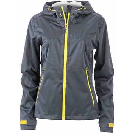 Ladies` Outdoor Jacket von James+Nicholson (Artnum: JN1097