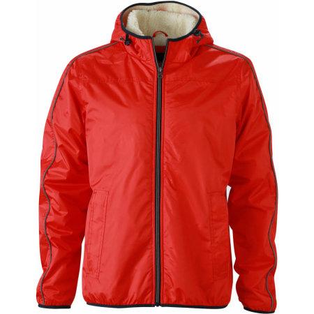 Men`s Winter Sports Jacket von James+Nicholson (Artnum: JN1104