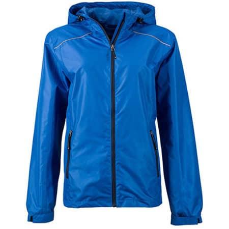 Ladies` Rain Jacket in Royal|Navy von James+Nicholson (Artnum: JN1117