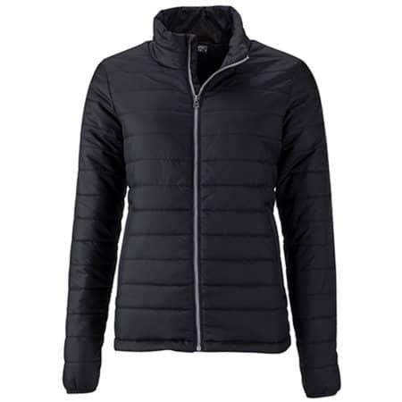 Ladies` Padded Jacket in Black von James+Nicholson (Artnum: JN1119