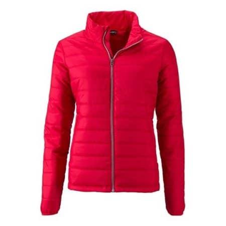 Ladies` Padded Jacket von James+Nicholson (Artnum: JN1119