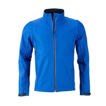 Men`s Zip-Off Softshell Jacket von James+Nicholson (Artnum: JN1122