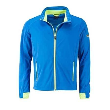 Men`s Sports Softshell Jacket von James+Nicholson (Artnum: JN1126