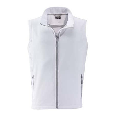 Men`s Promo Softshell Vest von James+Nicholson (Artnum: JN1128